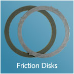 FRICTION DISC, STEEL PLATE